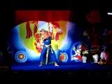 Танец,посвящённый 10 инкарнациям Шри Вишну.Танцует Ася Охотина.Киев,Рождественская пуджа.